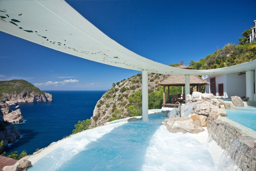 Cascadas Suspendidas - Best Spa pictures of Ibiza