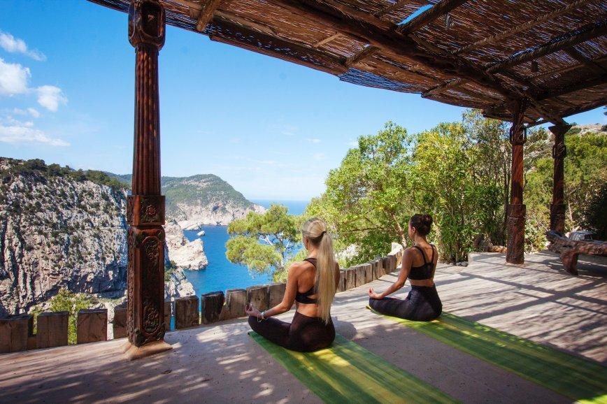 yoga class in ibiza