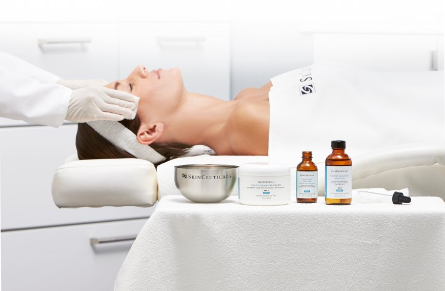 skinceuticals facial treatments and peels